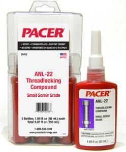 PACER ANL-22 Low-Strength Removable Threadlocker