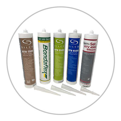 Caulk, Silicone, and Sealants