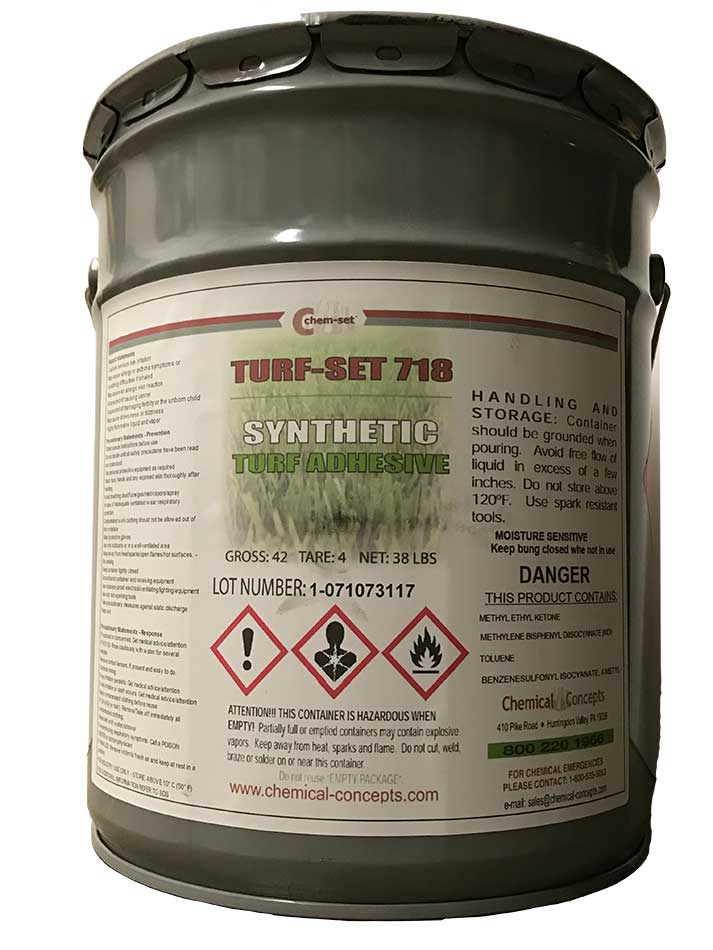 Adhesives - Synthetic Turf - Markets   Chemical Concepts