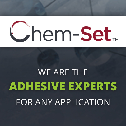CHEM-SET™ PES-32G 3IN. V-GROOVE TAPE